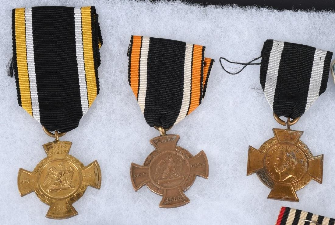 WWI IMPERIAL GERMAN & BAVARIAN SERVICE MEDALS - 2