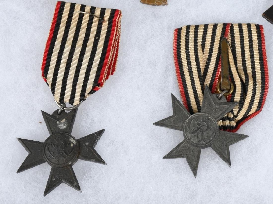 WWI IMPERIAL GERMAN & BAVARIAN SERVICE MEDALS - 4