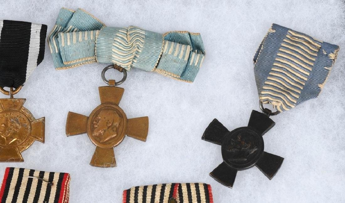 WWI IMPERIAL GERMAN & BAVARIAN SERVICE MEDALS - 5