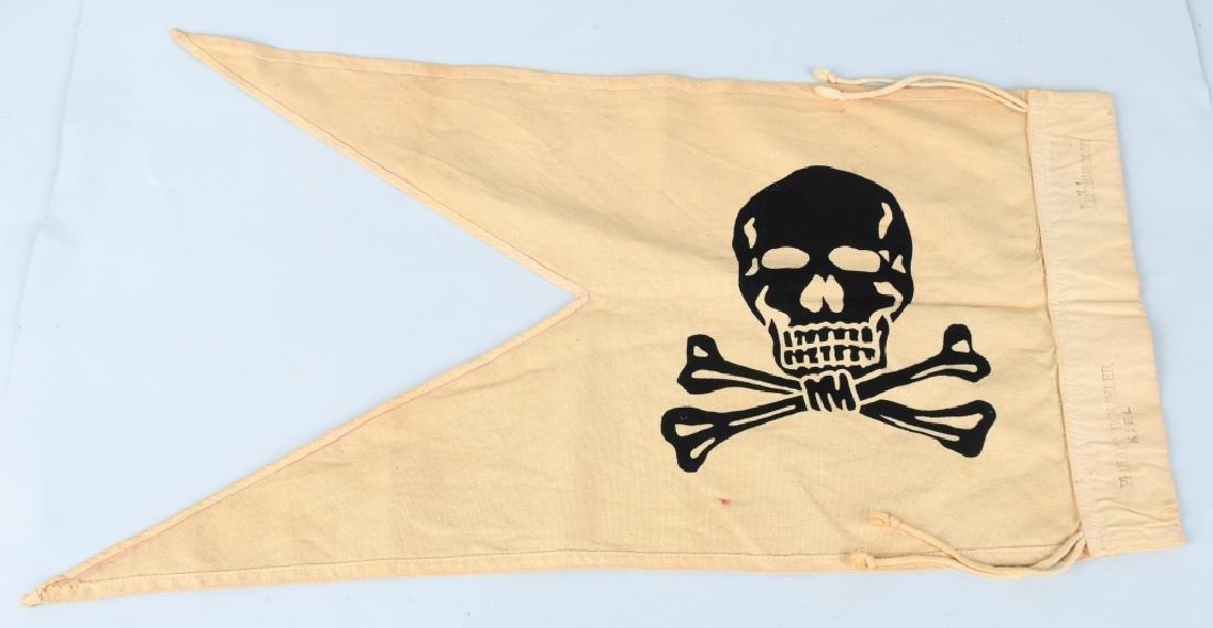 WWI IMPERIAL UHLAN LANCER FLAG - 2