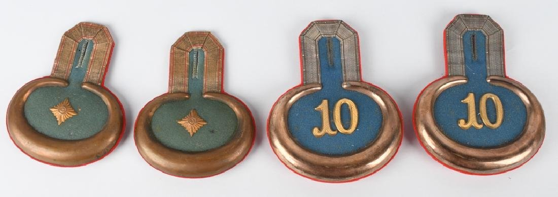 WWI IMPERIAL GERMAN INFANTRY OFFICER EPAULETTES