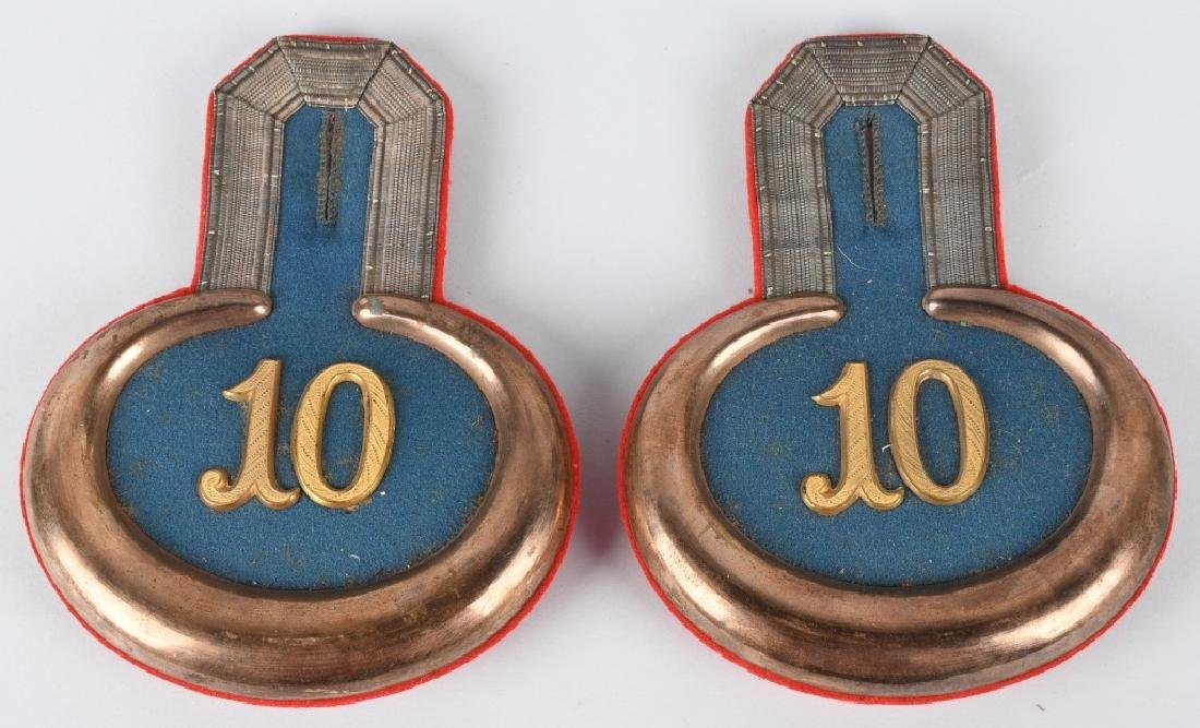 WWI IMPERIAL GERMAN INFANTRY OFFICER EPAULETTES - 2