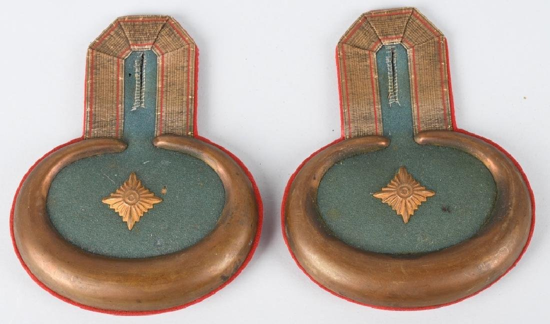 WWI IMPERIAL GERMAN INFANTRY OFFICER EPAULETTES - 4