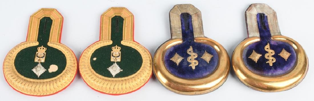 WWI IMPERIAL GERMAN OFFICER EPAULETTES