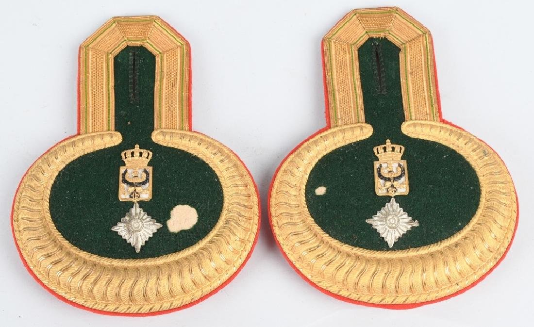 WWI IMPERIAL GERMAN OFFICER EPAULETTES - 4