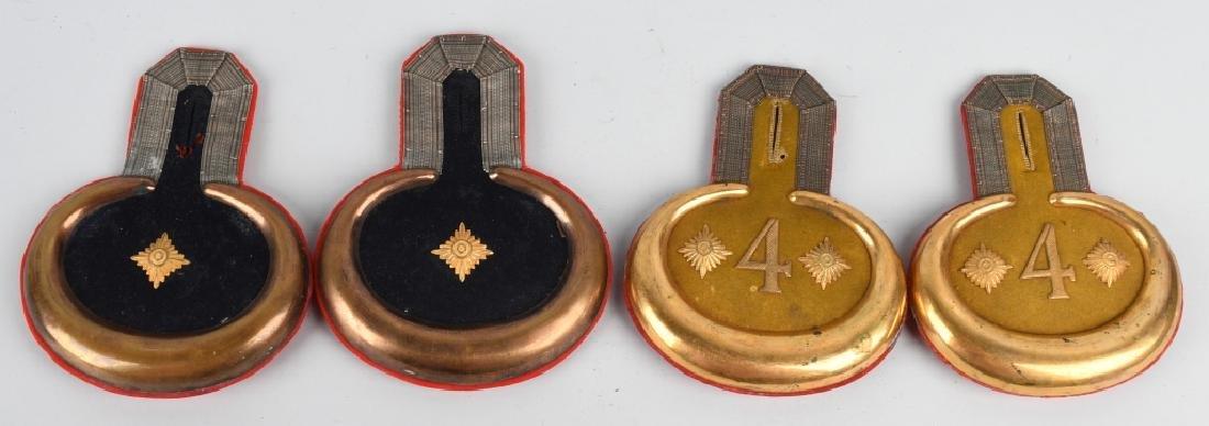 WWI IMPERIAL GERMAN OFFICER EPAULETTES