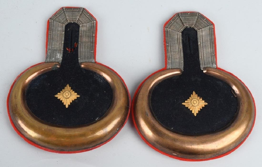 WWI IMPERIAL GERMAN OFFICER EPAULETTES - 4