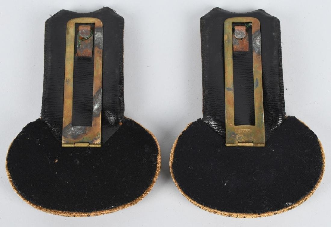 WWI IMPERIAL GERMAN NAVAL EPAULETTES - NAVY - 3