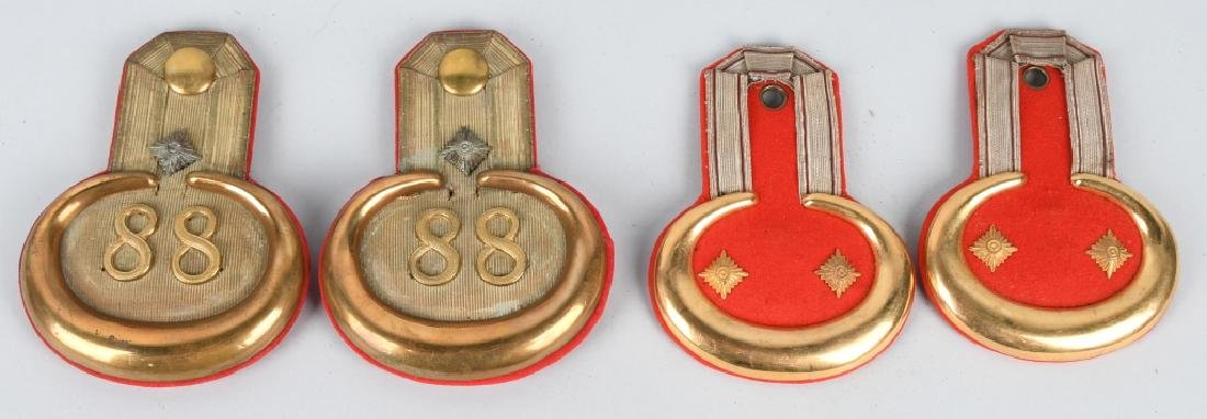 WWI IMPERIAL GERMAN INFANTRY OFFICER EPAULETTES