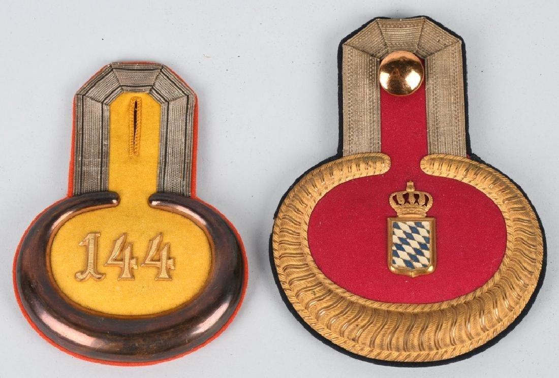 WWI IMPERIAL GERMAN EPAULETTE LOT - 4