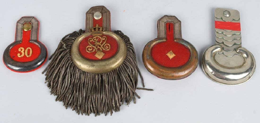 WWI IMPERIAL GERMAN EPAULETTE LOT
