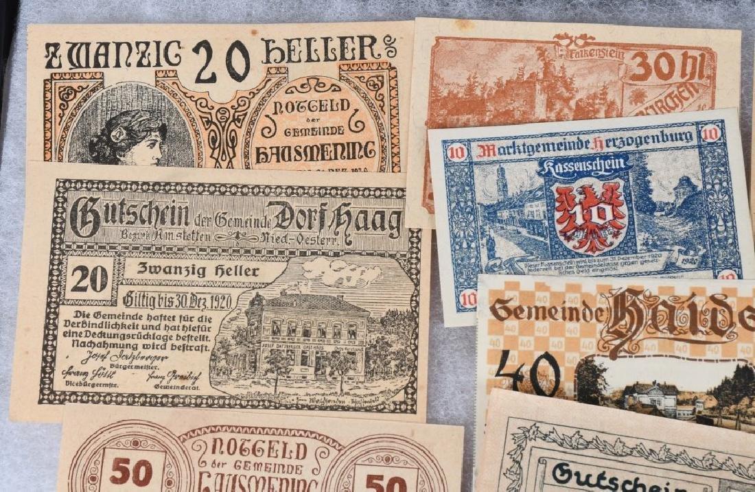 WWI ERA GERMAN NOTGELD EMERGENCY MONEY LOT (24) - 2
