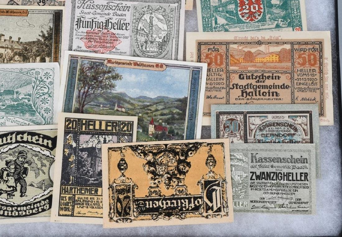 WWI ERA GERMAN NOTGELD EMERGENCY MONEY LOT (24) - 4