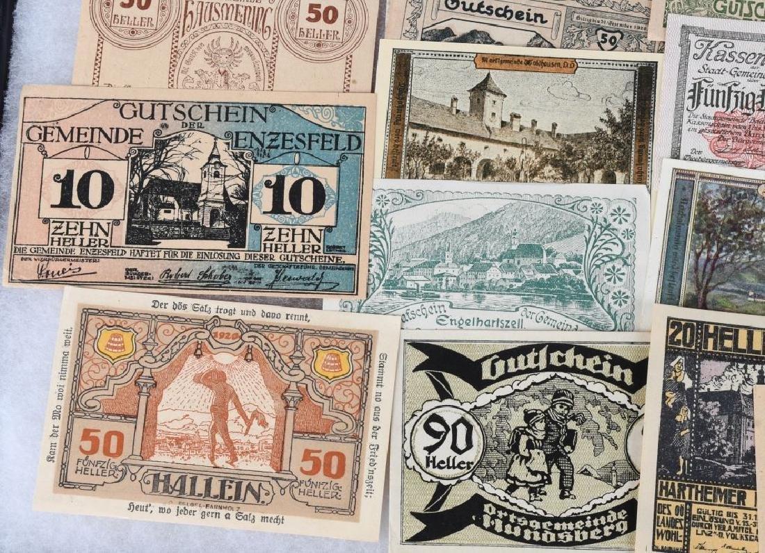WWI ERA GERMAN NOTGELD EMERGENCY MONEY LOT (24) - 5