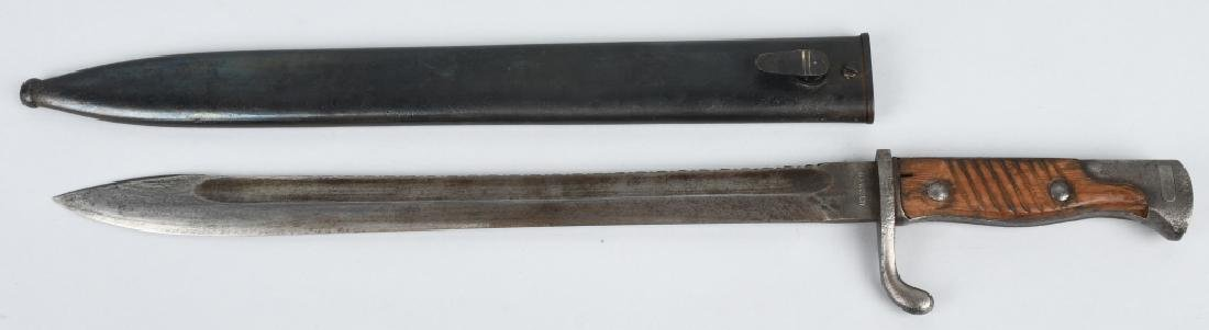 WWI IMPERIAL GERMAN BUTCHER SAW TOOTH BAYONET - 2