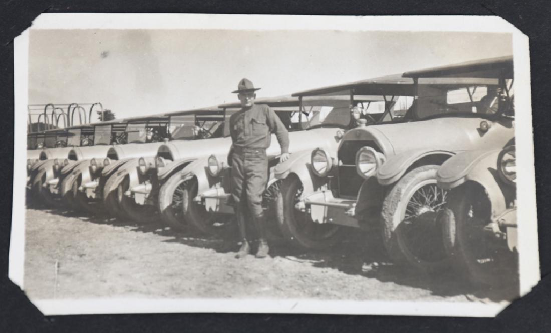 WWI U.S. MOTOR TRANSPORT CORPS PHOTO ALBUM & BOOK - 10