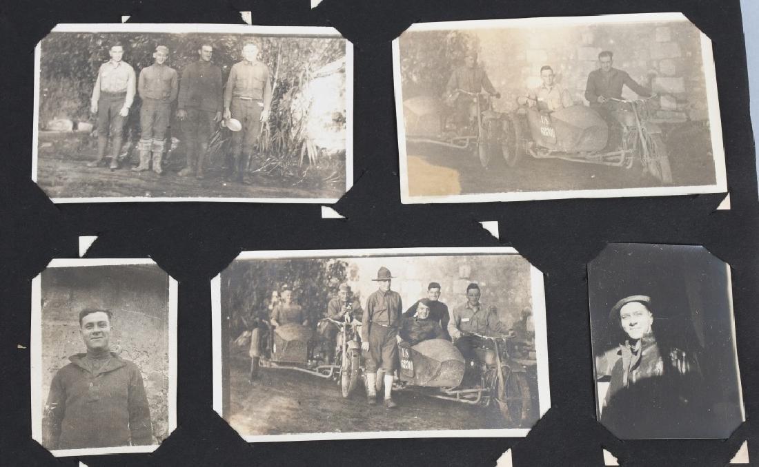 WWI U.S. MOTOR TRANSPORT CORPS PHOTO ALBUM & BOOK - 2