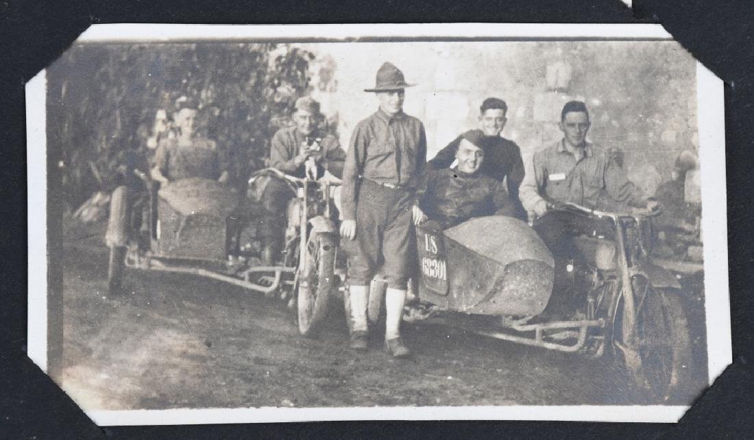 WWI U.S. MOTOR TRANSPORT CORPS PHOTO ALBUM & BOOK - 3