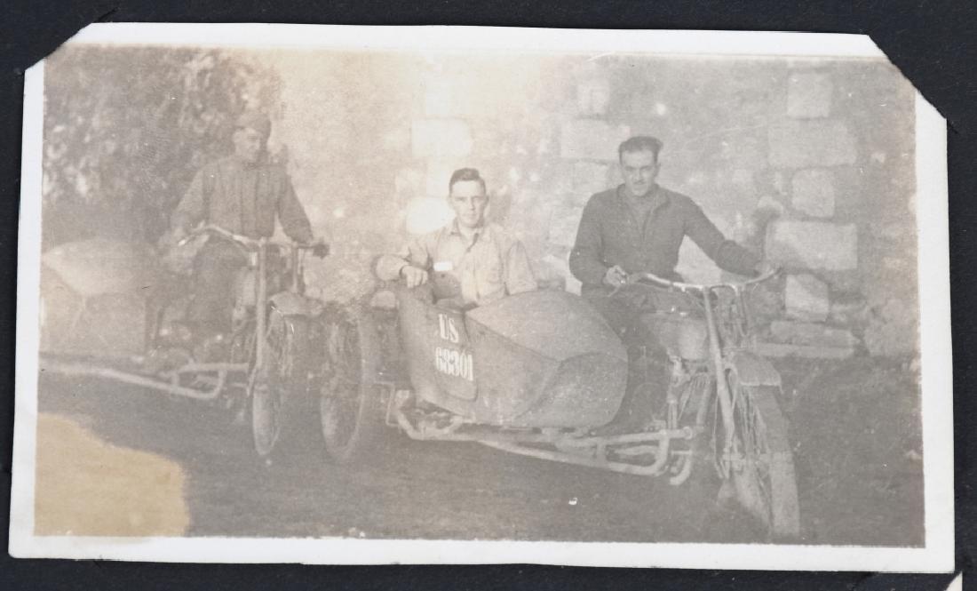 WWI U.S. MOTOR TRANSPORT CORPS PHOTO ALBUM & BOOK - 4