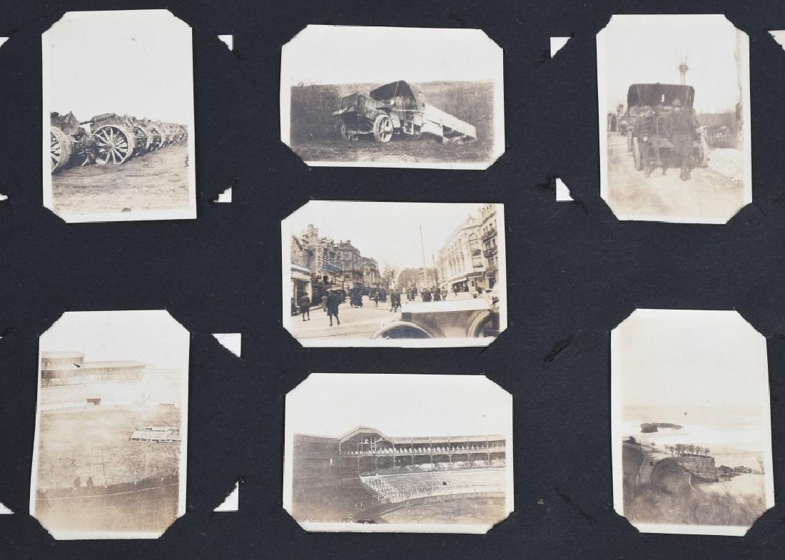 WWI U.S. MOTOR TRANSPORT CORPS PHOTO ALBUM & BOOK - 5