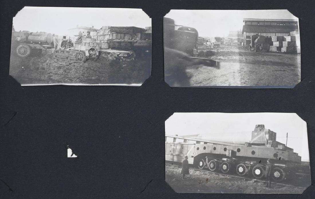 WWI U.S. MOTOR TRANSPORT CORPS PHOTO ALBUM & BOOK - 6