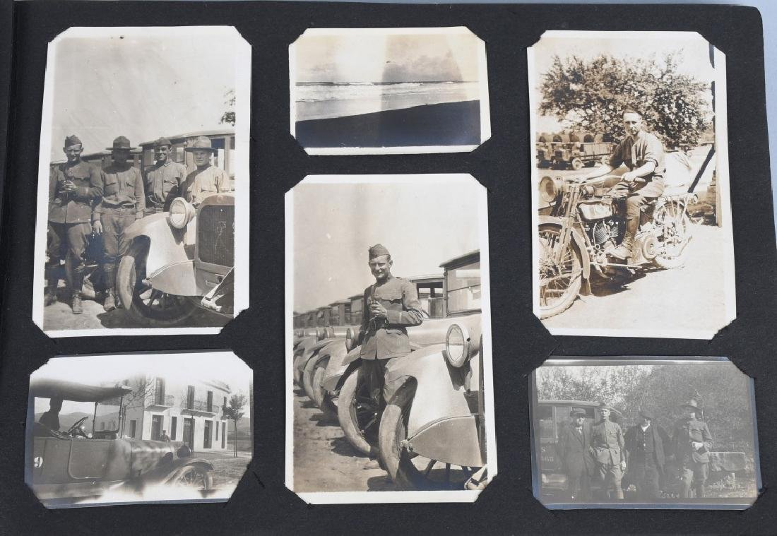 WWI U.S. MOTOR TRANSPORT CORPS PHOTO ALBUM & BOOK - 7