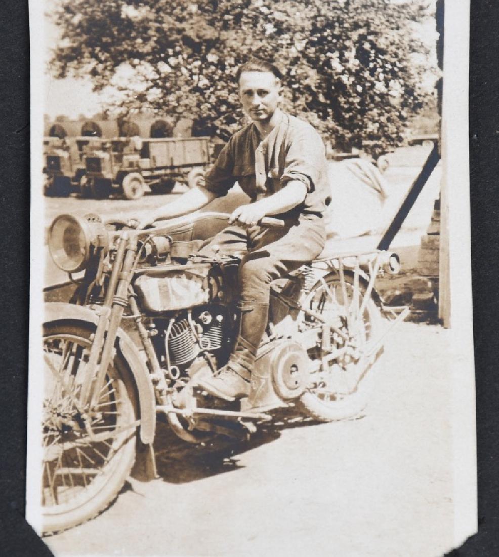 WWI U.S. MOTOR TRANSPORT CORPS PHOTO ALBUM & BOOK - 8
