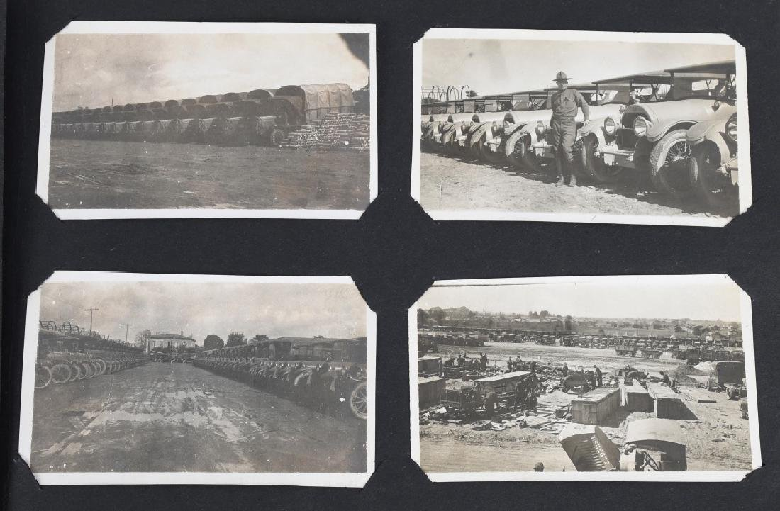 WWI U.S. MOTOR TRANSPORT CORPS PHOTO ALBUM & BOOK - 9