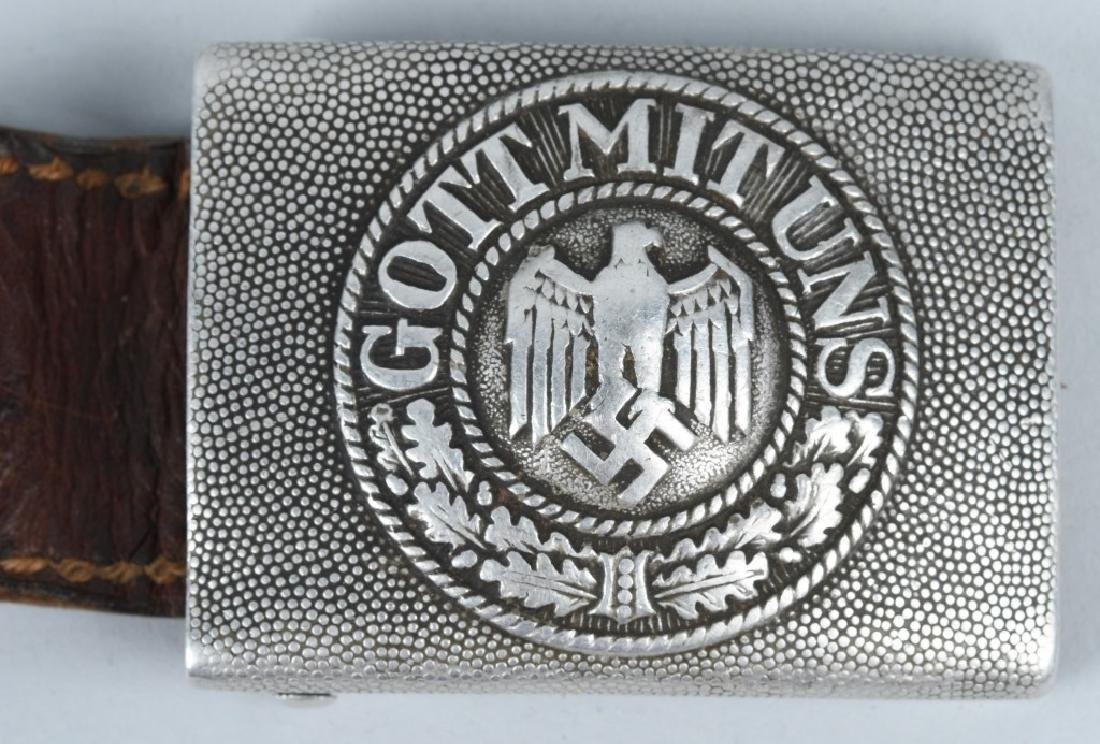 WWII NAZI GERMAN BELT BUCKLE LOT - 2