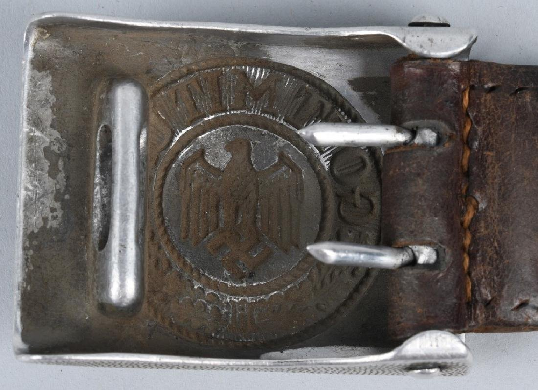 WWII NAZI GERMAN BELT BUCKLE LOT - 3