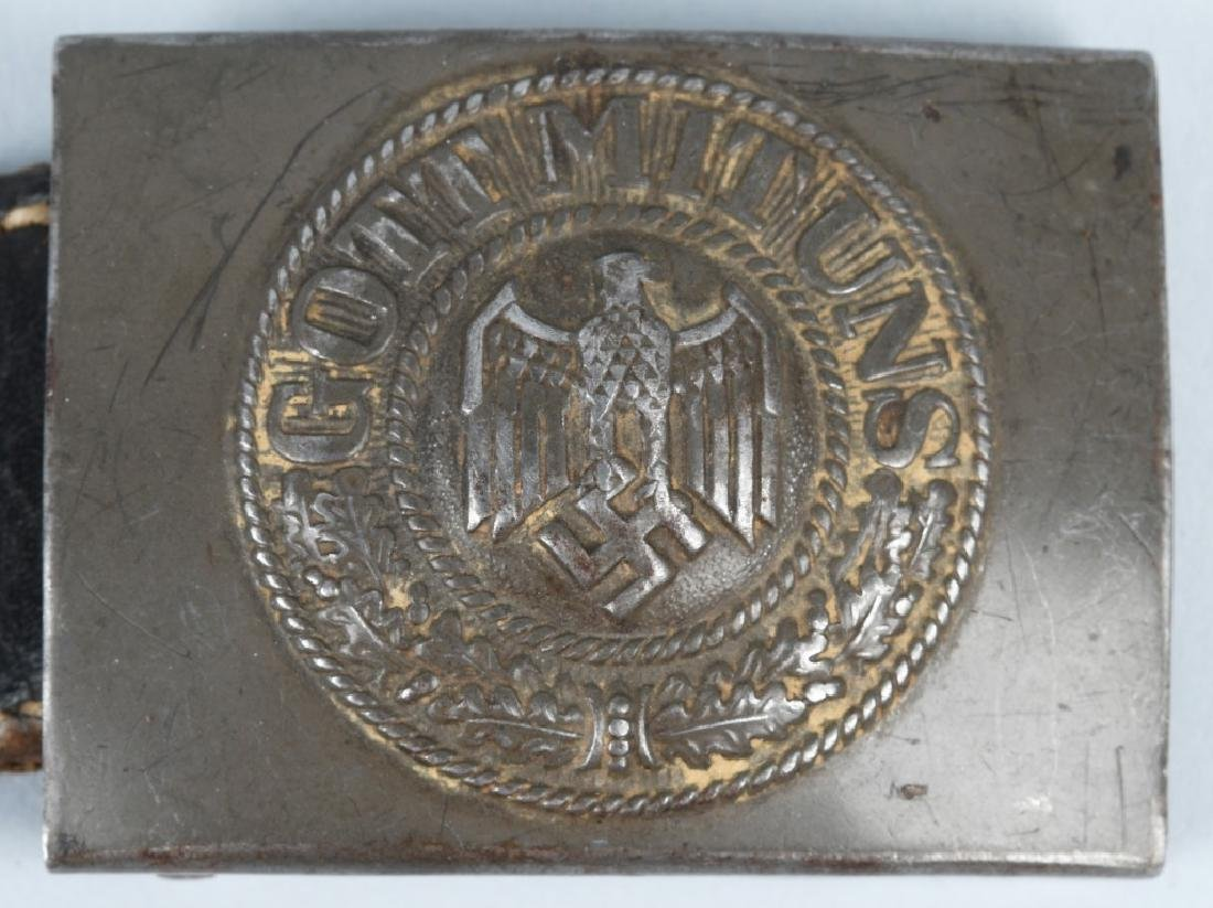 WWII NAZI GERMAN BELT BUCKLE LOT - 5