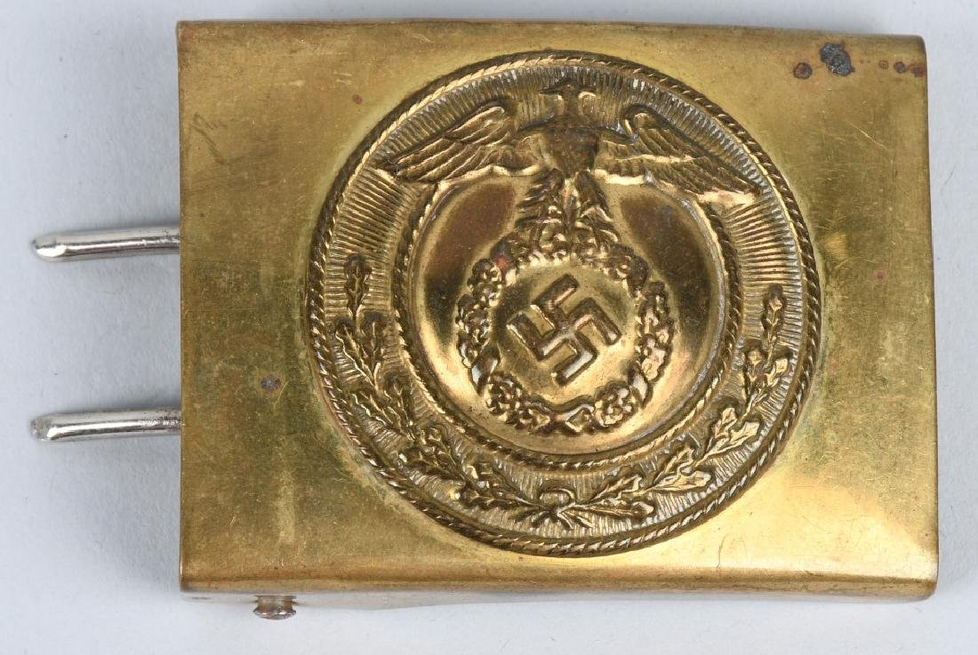 WWII NAZI GERMAN BELT BUCKLE LOT - HJ & SA (3) - 2