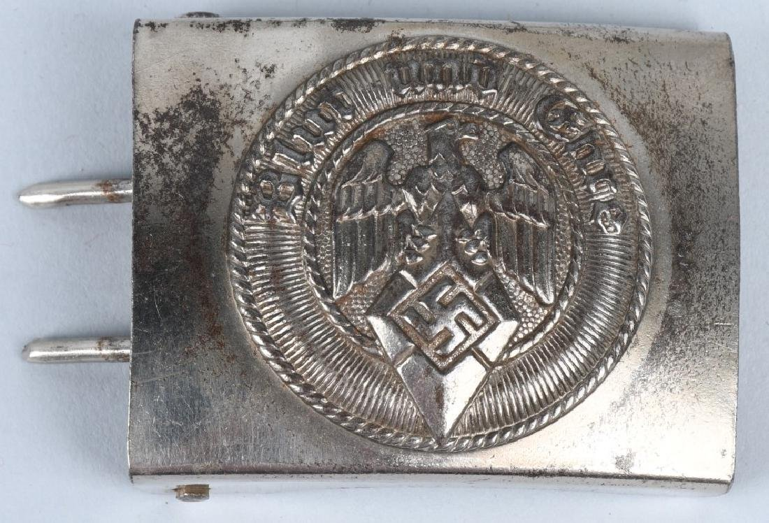 WWII NAZI GERMAN BELT BUCKLE LOT - HJ & SA (3) - 4