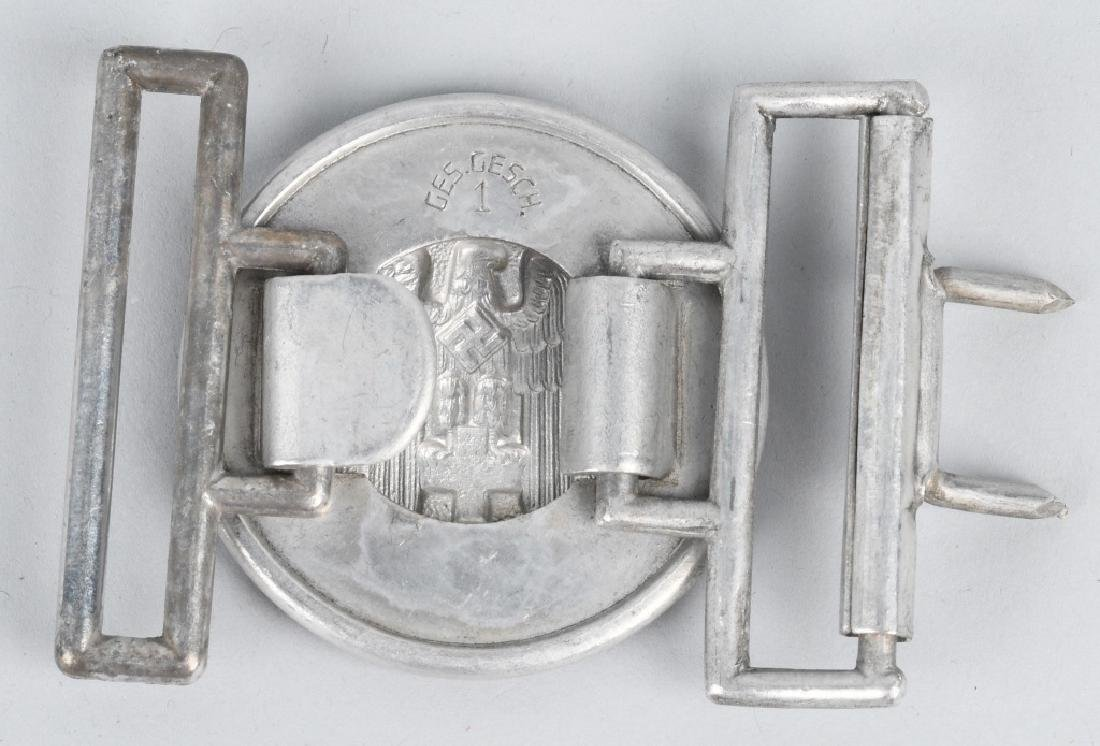 WWII NAZI GERMAN RED CROSS OFFICER BELT BUCKLE - 2