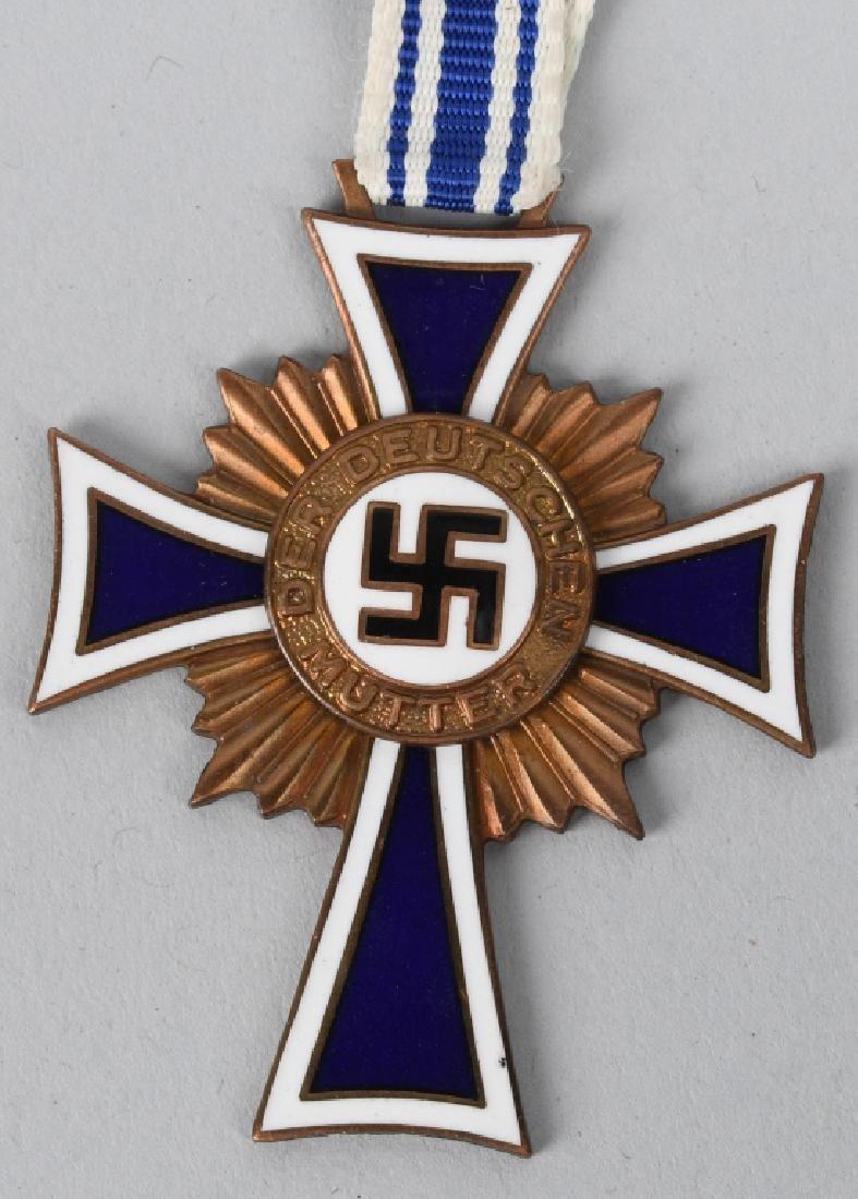 WWII NAZI GERMAN MOTHERS CROSS LOT (2) - 2