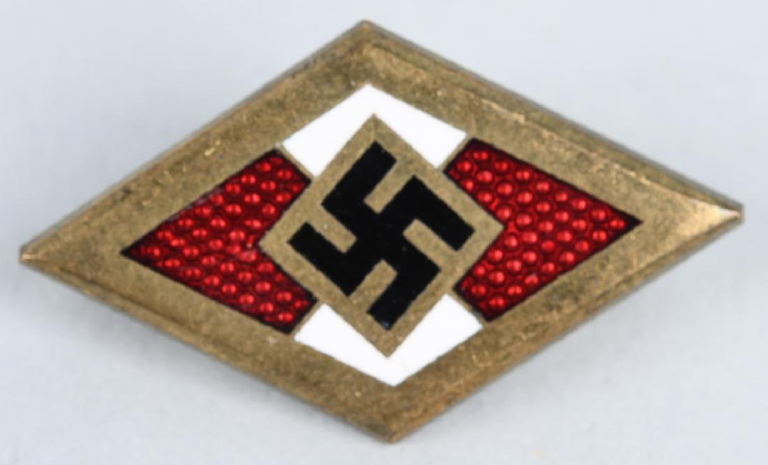 WWII NAZI GERMAN MEDAL LOT - HJ & IRON CROSS 1ST - 5