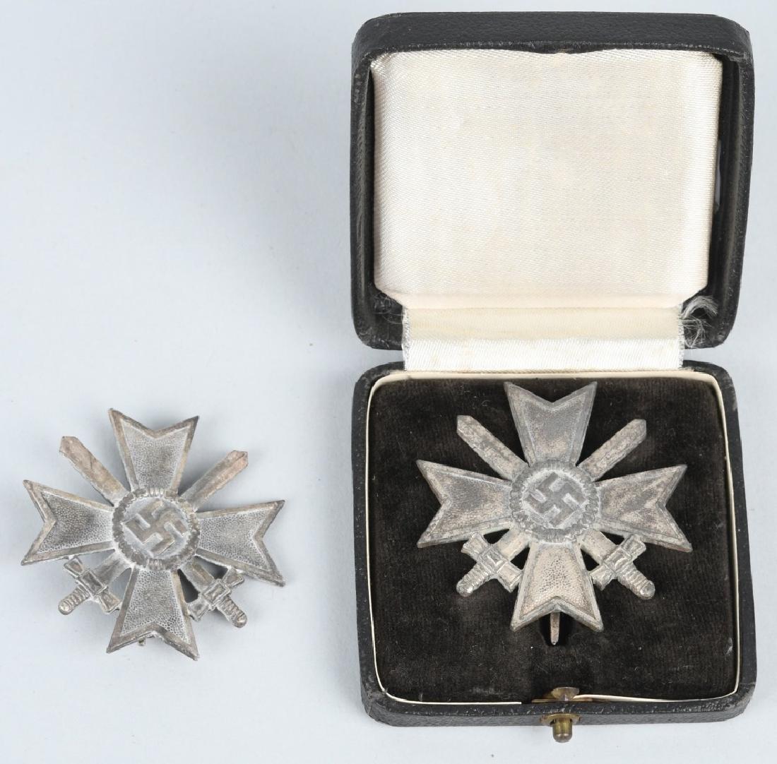 WWII NAZI GERMAN WAR MERIT CROSS LOT - 1 CASED