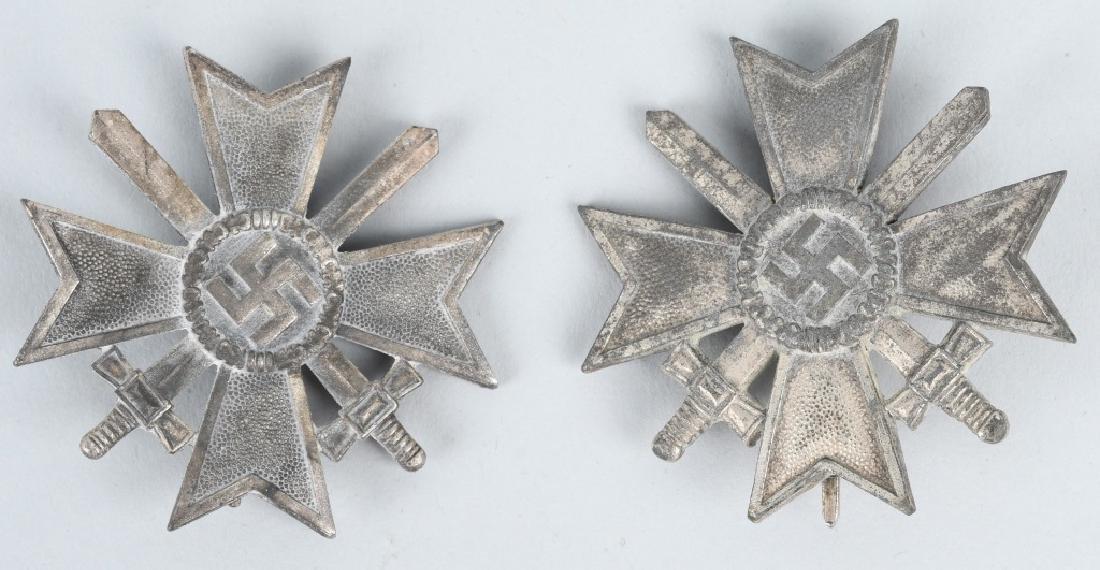 WWII NAZI GERMAN WAR MERIT CROSS LOT - 1 CASED - 2