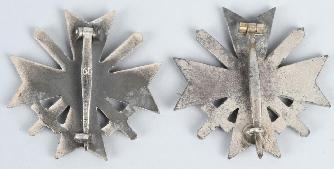 WWII NAZI GERMAN WAR MERIT CROSS LOT - 1 CASED - 3