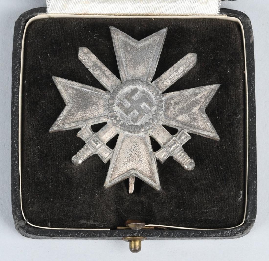 WWII NAZI GERMAN WAR MERIT CROSS LOT - 1 CASED - 5
