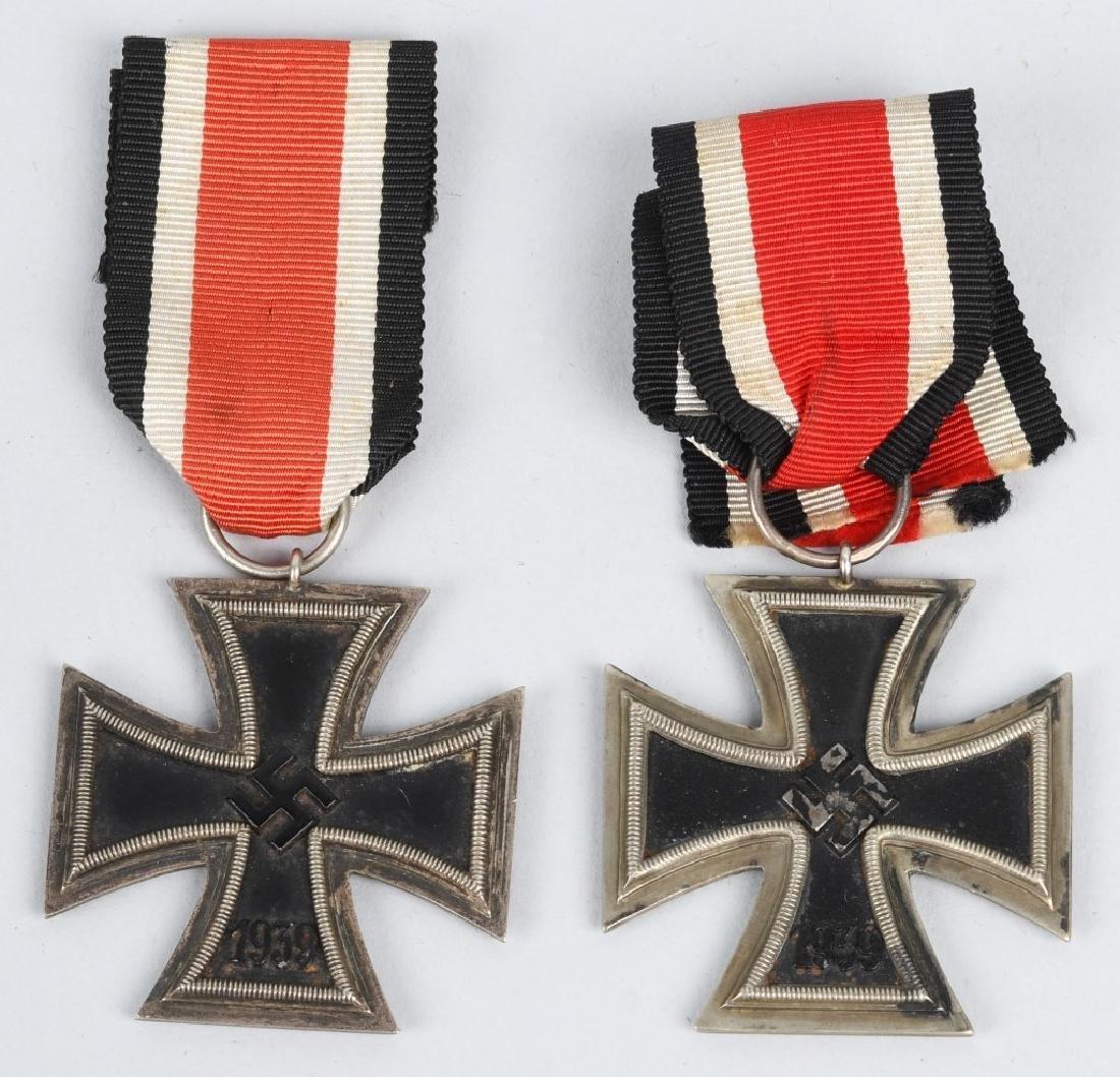 WWII NAZI GERMAN 2ND CLASS IRON CROSS BADGE LOT -2