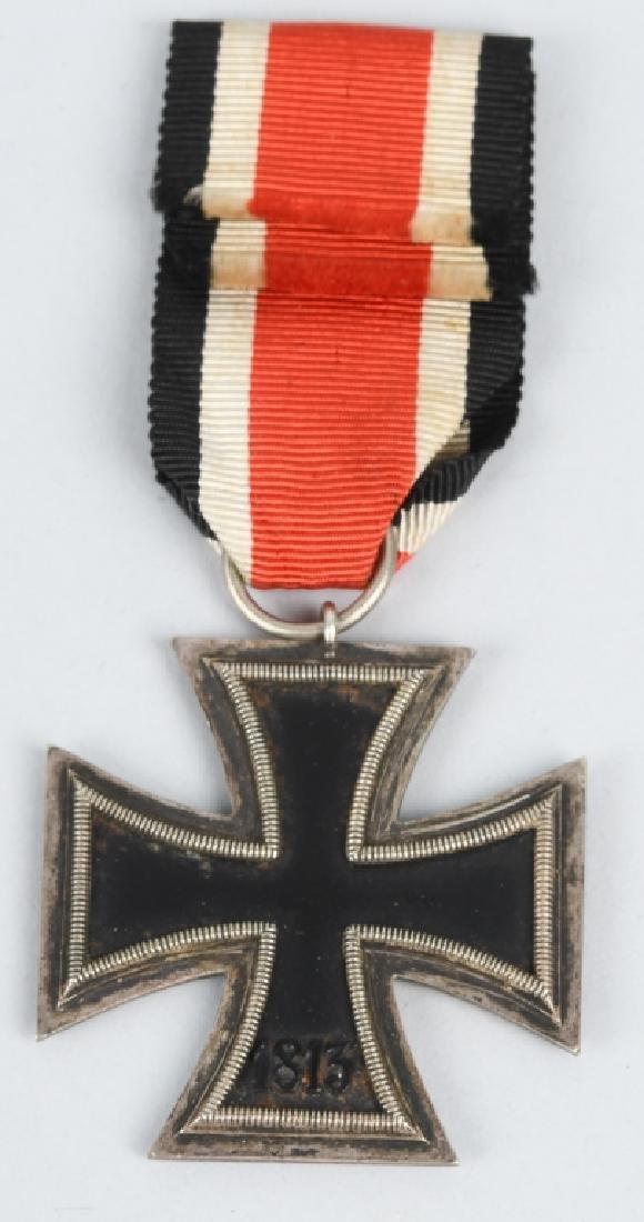 WWII NAZI GERMAN 2ND CLASS IRON CROSS BADGE LOT -2 - 3