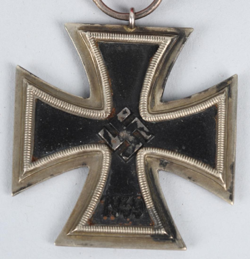 WWII NAZI GERMAN 2ND CLASS IRON CROSS BADGE LOT -2 - 5