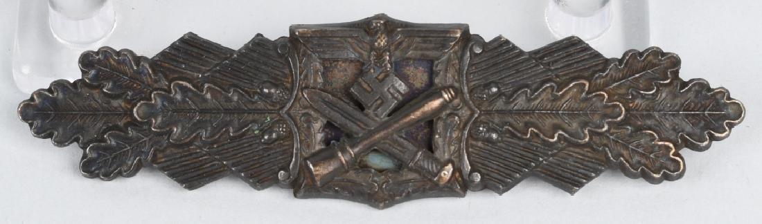 WWII NAZI GERMAN BRONZE CLOSE COMBAT CLASP