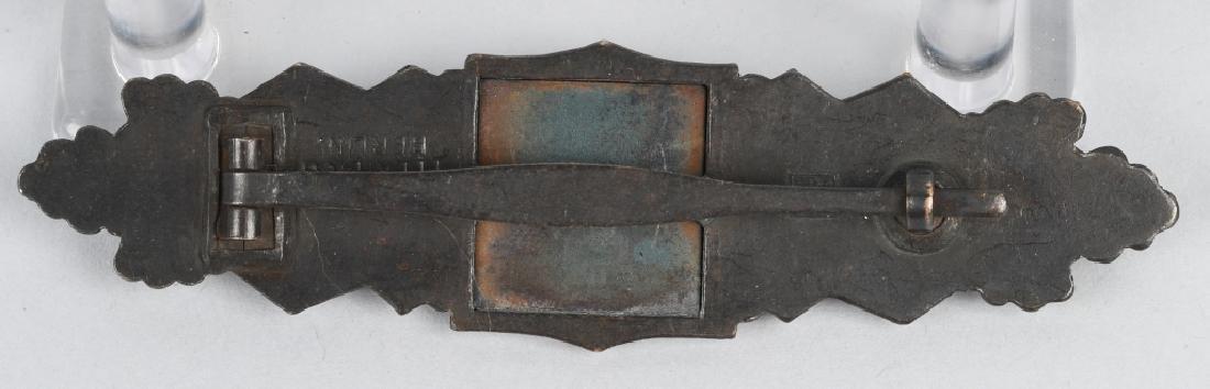 WWII NAZI GERMAN BRONZE CLOSE COMBAT CLASP - 2