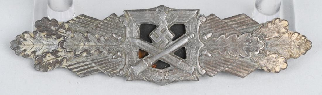 WWII NAZI GERMAN SILVER CLOSE COMBAT CLASP