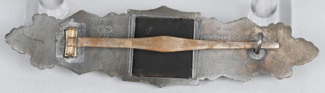 WWII NAZI GERMAN SILVER CLOSE COMBAT CLASP - 2