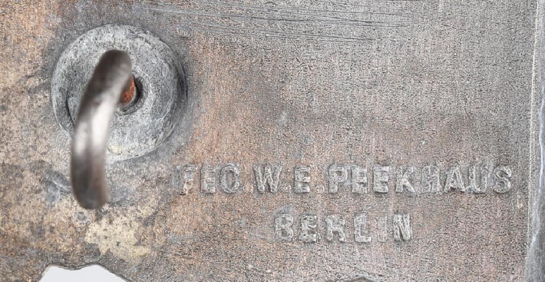 WWII NAZI GERMAN SILVER CLOSE COMBAT CLASP - 3
