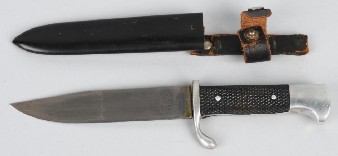 WWII NAZI GERMAN DEUTSCHES YOUTH DJ KNIFE & SHEATH