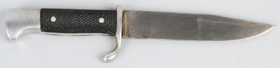 WWII NAZI GERMAN DEUTSCHES YOUTH DJ KNIFE & SHEATH - 3